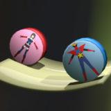 Blender 2.82 で遊ぶ・物理演算/転がし